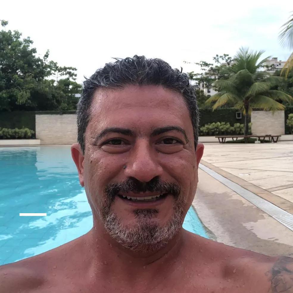 Ator Tom Veiga, intérprete do Louro José, do