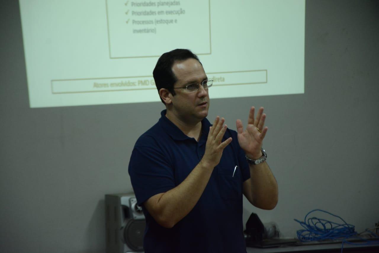 Equipe de Alan Guedes apresenta relatório de transição nesta quarta