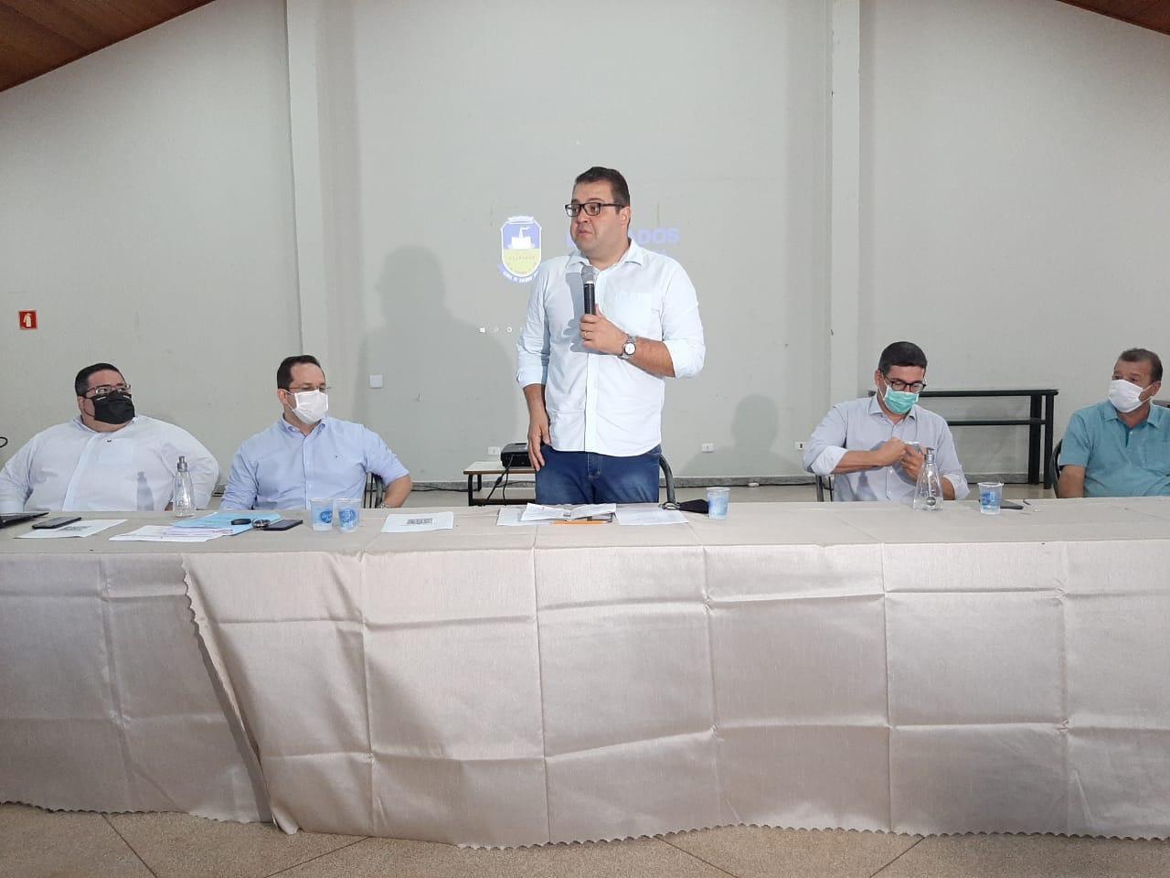 Prefeito eleito Alan Guedes e Equipe de Transição apresentaram resultado do trabalho conjunto entre a atual e futura gestões