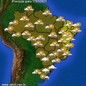 Domingo de tempo fechado com chance de mais chuva para o Estado