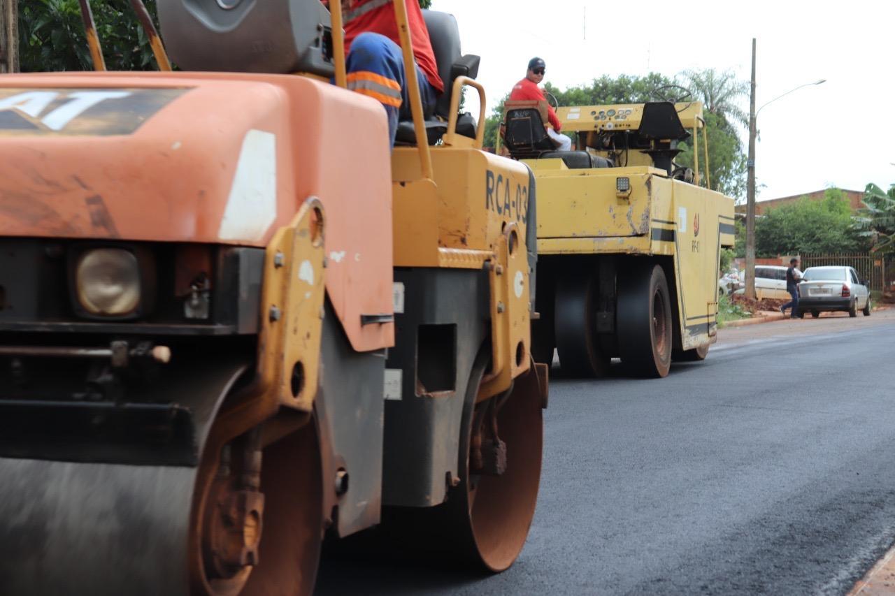 Prefeitura começa obras de pavimentação no Jardim Caiman