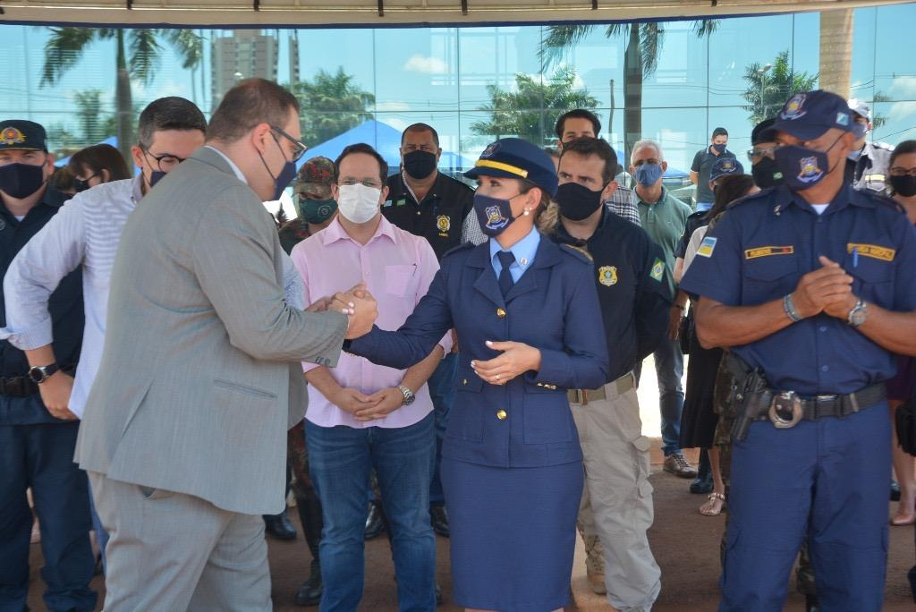 Guarda Municipal de Dourados oficializa 1ª mulher no comando