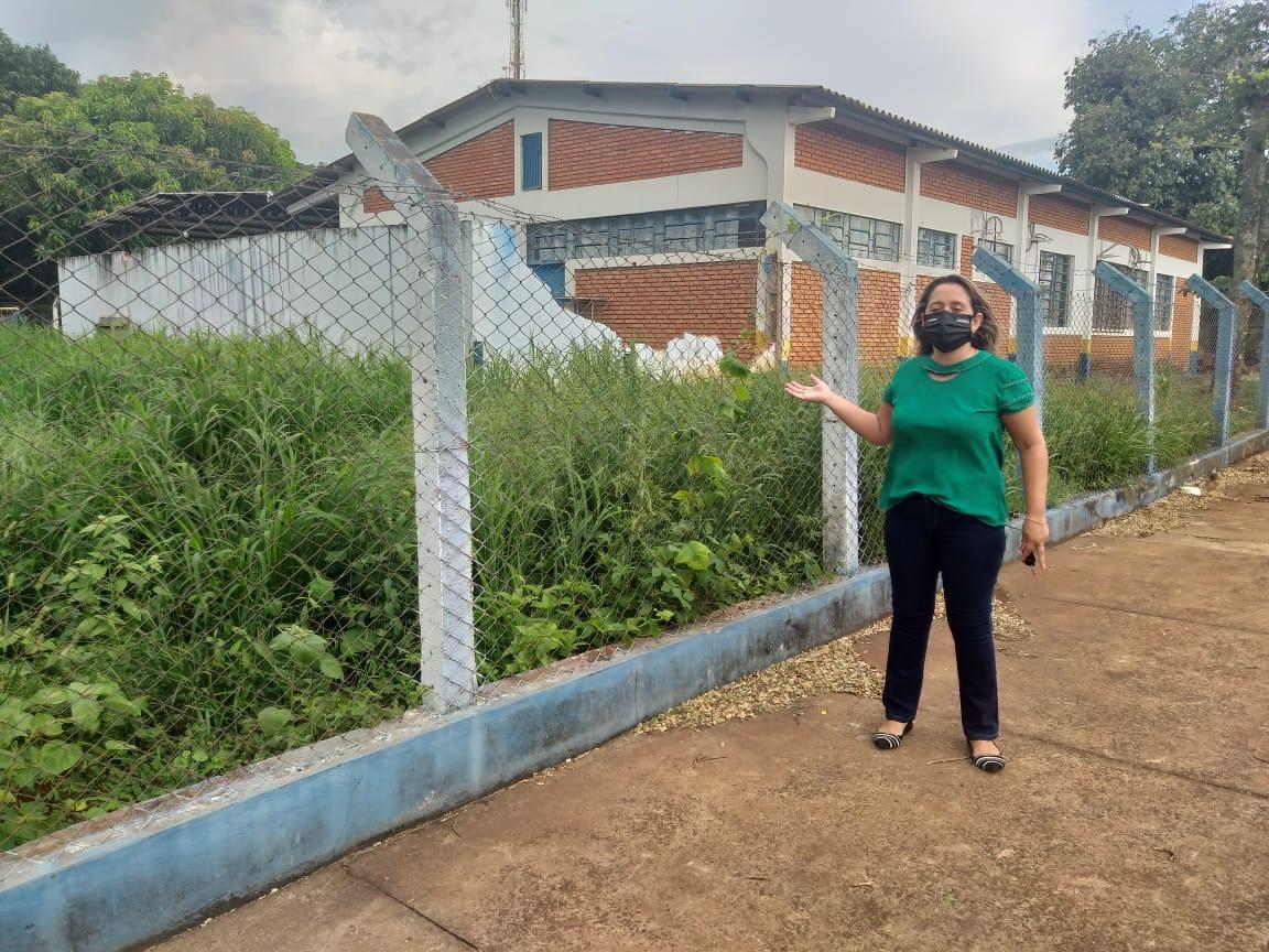 Lia Nogueira cobra manutenção de  escolas e ceims para retomada das aulas