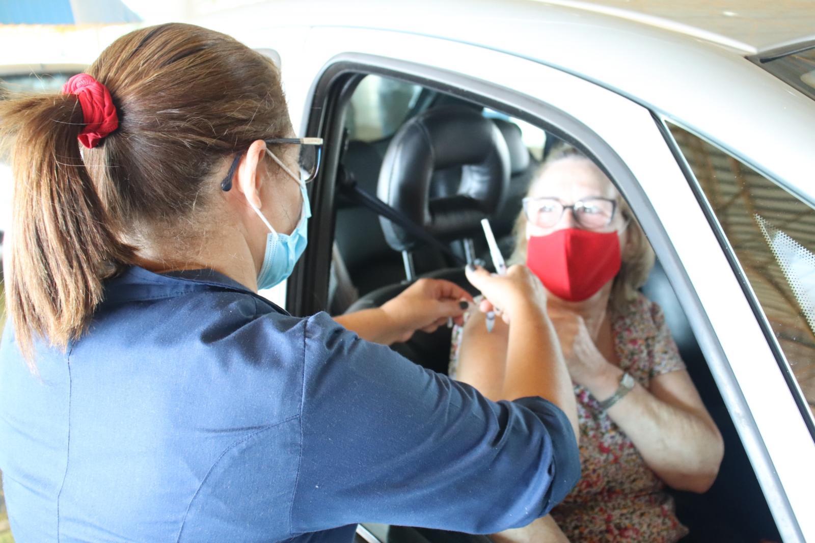 Com 26.427 vacinados, Dourados terá nova força-tarefa de imunização