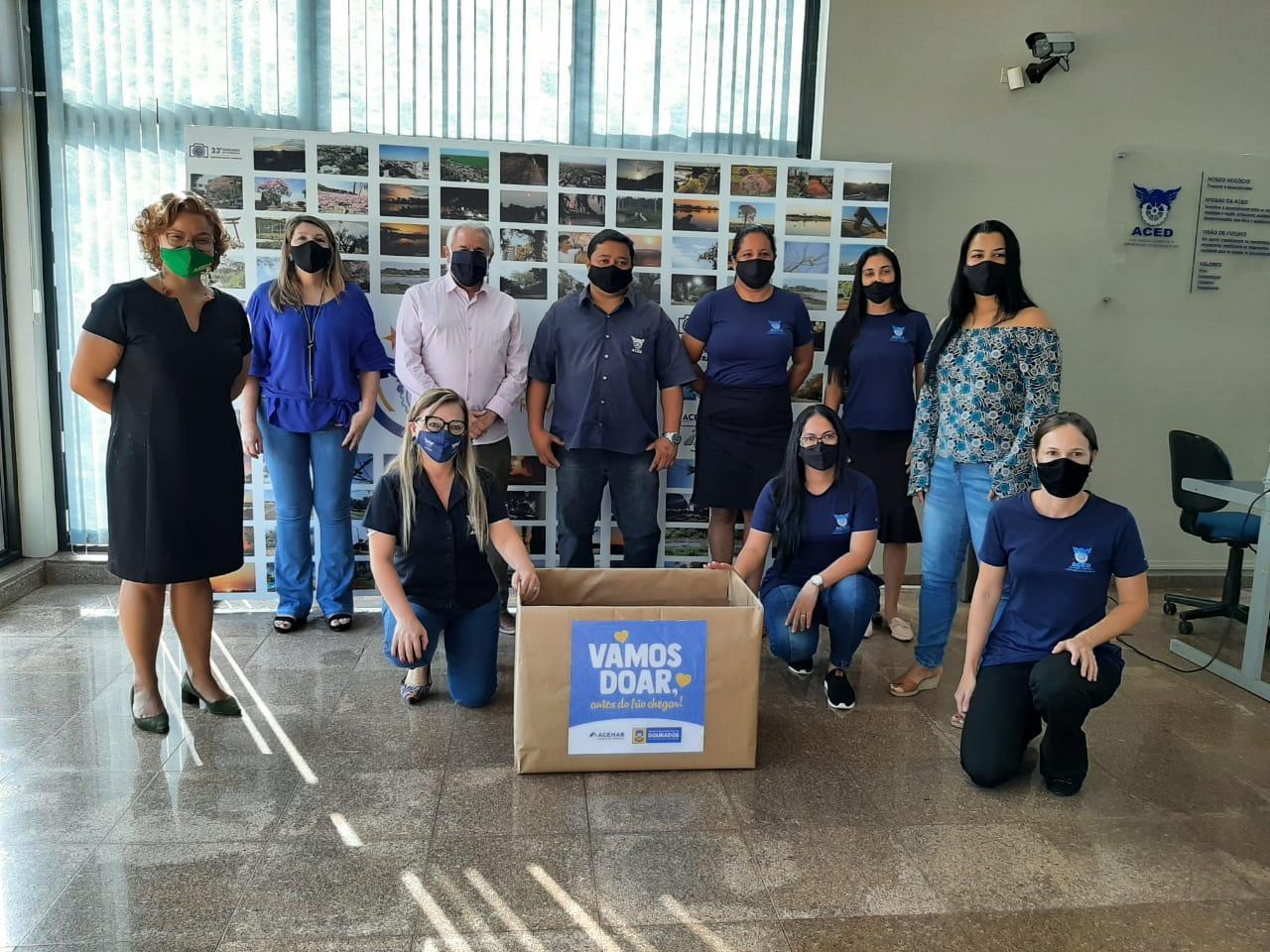 """""""Vamos Doar, antes do inverno chegar"""" campanha do agasalho 2021 é lançada pela Prefeitura de Dourados"""