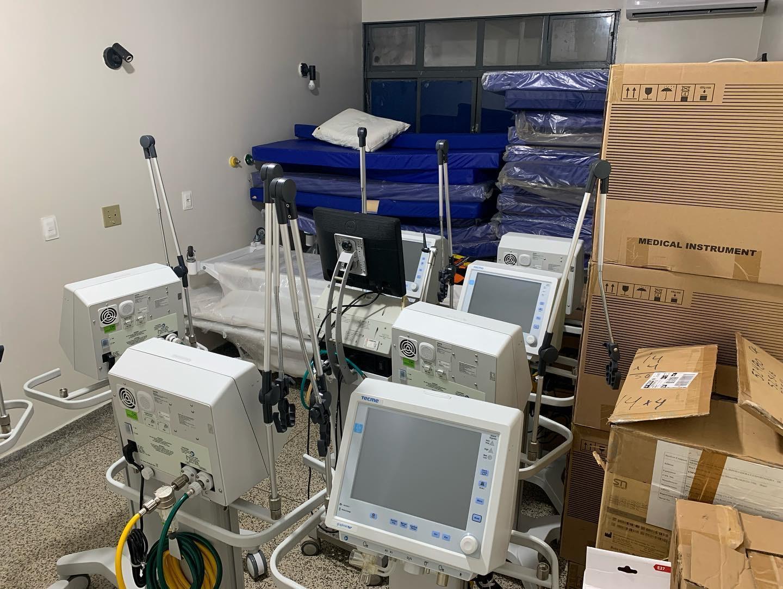 Hospital da Vida avança no processo de instalação dos novos leitos de UTI Covid-19
